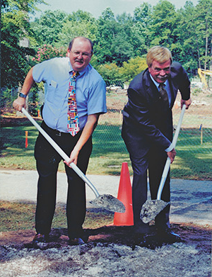 University Center groundbreaking
